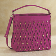 diamond square stud bag