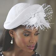 straw floral hat