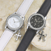 cross accent watch