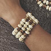 beaded stretch bracelet 15