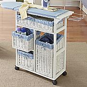 double basket ironing table