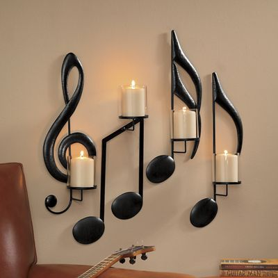 Set of 4 Musical Sconces from Montgomery Ward | SI718309