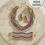 multicolor strand jewelry