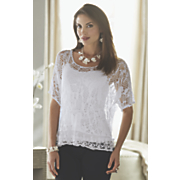 kiran crochet top with tank