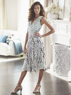 Geena Animal Print Dress