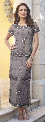 Argenta Tiered Dress