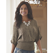 etta pointelle sweater
