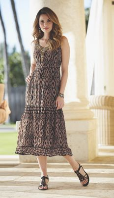 Apollonia Beaded Dress