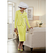 farah hat and lafara skirt suit