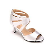 Ankle Fan Sandal by Midnight Velvet