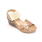 embellished heel sandal by midnight velvet