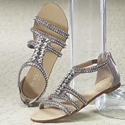 Bling Strap Sandal by Bijou