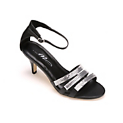Three Strap Sandal by Midnight Velvet