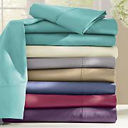 Ginny's Brand 600-Thread Count Cotton Blend Sateen Sheet Set
