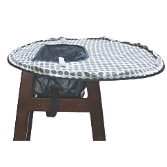neatnik saucer high chair cover and placemat