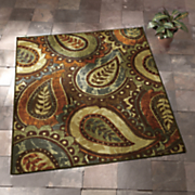 paisley indoor outdoor rug