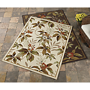 botanical indoor outdoor rug