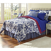 Palazzo Comforter Set, Decorative Pillow and Window Treatments