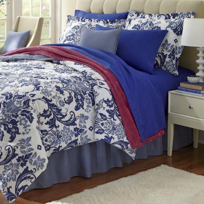 Palazzo Comforter Set, Decorative Pillow and Window Treatments