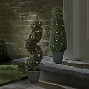 solar topiary trees