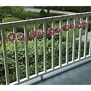 10 pc floral bush set