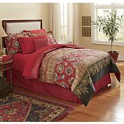 Darjeeling Comforter Set & Window Treatments