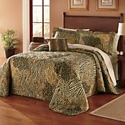 Safari Bedspread Set & Window Treatments