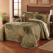 Safari Bedspread Set & Window Treatments