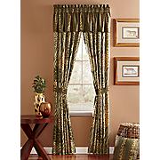 safari bedspread set window treatments