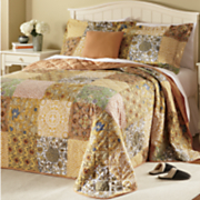 Gilmore Bedspread Set and Window Treatments