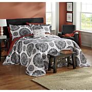 Inspiration Bedpsread Set & Window Treatments