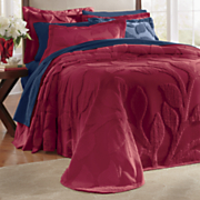 Leaf Chenille Bedspread