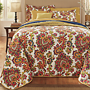 Lillie Bedspread Set & Window Treatments