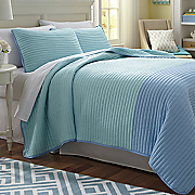 Two-Tone Coverlet Set