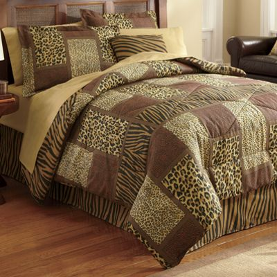 Nairobi Complete Bed Set & Window Treatments