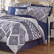 Wilmont Comforter Set, Decorative Pillow and Window Treatments