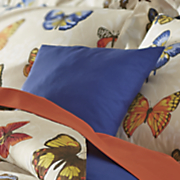 butterfly paradise decorative pillow