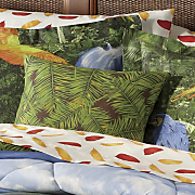 rainforest decorative pillow
