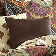 tribal ikat decorative pillow