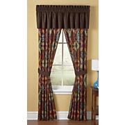 tribal ikat window treatments