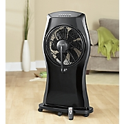 misting fan with remote