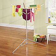 3 arm portable umbrella clothesline