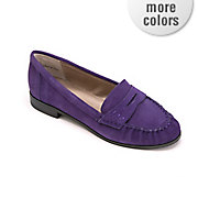 suede loafer by bijou