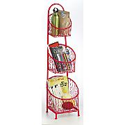 metal basket stand