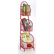 Metal Basket Stand