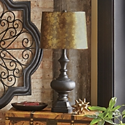Coppertone Antiqued Lamp