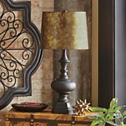 Coppertone Antiqued Lamp