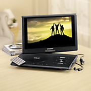 13-Inch Portable DVD Player with Swivel Screen by Sylvania