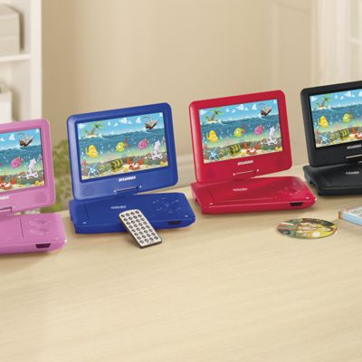 9 Quot And 13 Quot Portable Dvd Player With Swivel Screen By