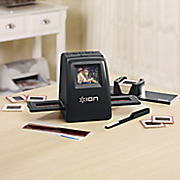 high resolution slide negative film to 14 mp scanner and converter by ion